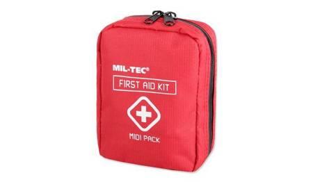 Apteczka First Aid Pack Midi - Czerwony - Mil-Tec