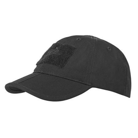 Czapka Baseball Foldable Cap Czarny - Helikon-Tex