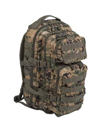 Plecak Small Assault Pack - Digital Woodland - Mil-Tec