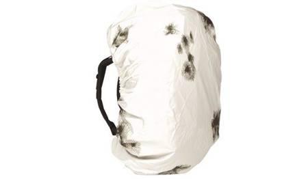 Pokrowiec na plecak do 80 L - Kamuflaż Zimowy - Mil-Tec