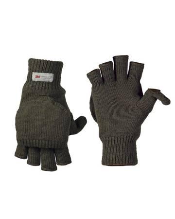 Rękawiczki Hunter - Zielony OD - Mil-Tec