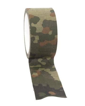 Taśma Cloth Camo Tape - Flecktarn - Mil-Tec