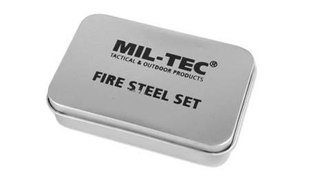 Zestaw do rozpalania ognia - Fire Steel Set - Mil-Tec